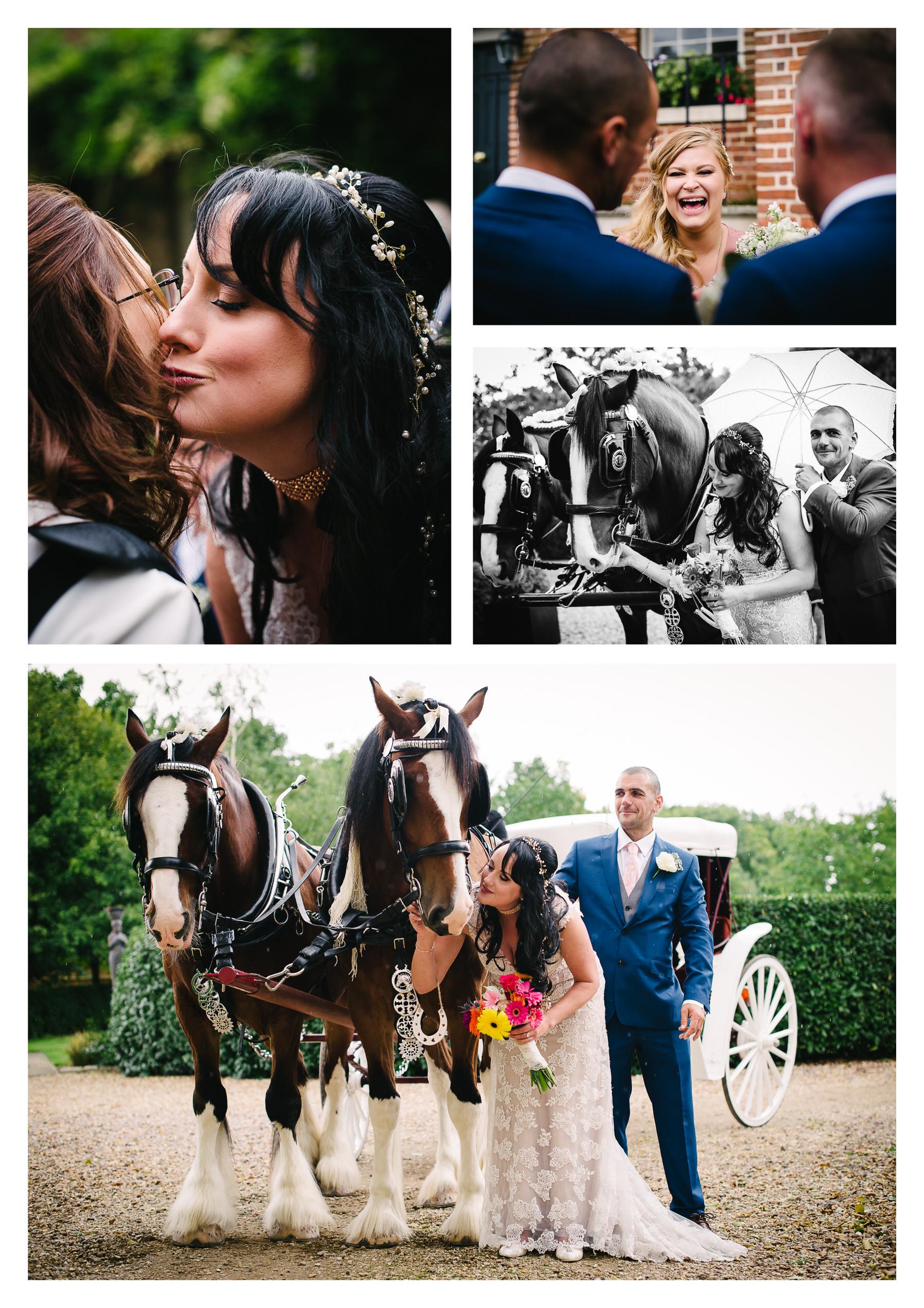 Documentary wedding photography in Hertfordshire
