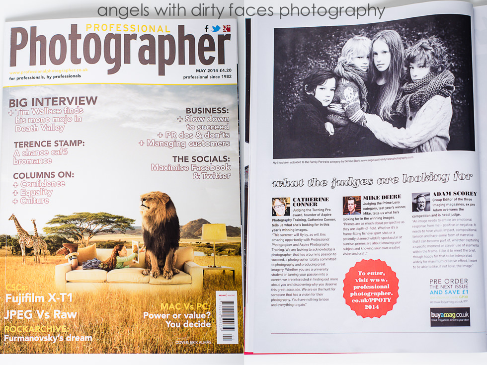 hertfordshire wedding photographer features in professional photographer magazine