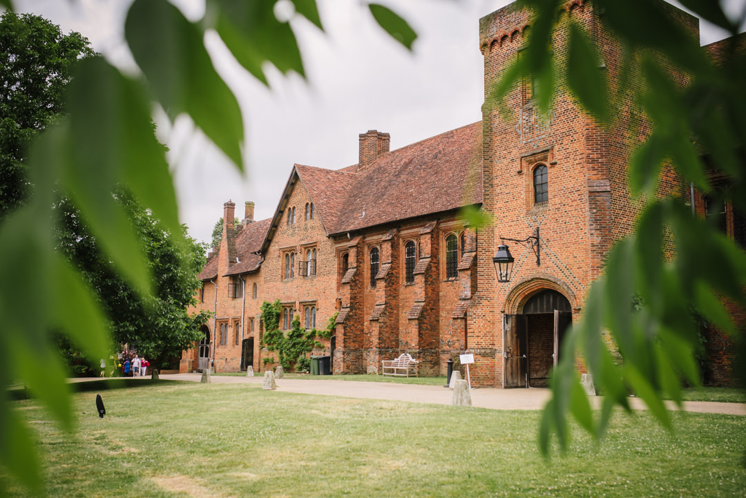 hatfield house wedding venue taken from the front