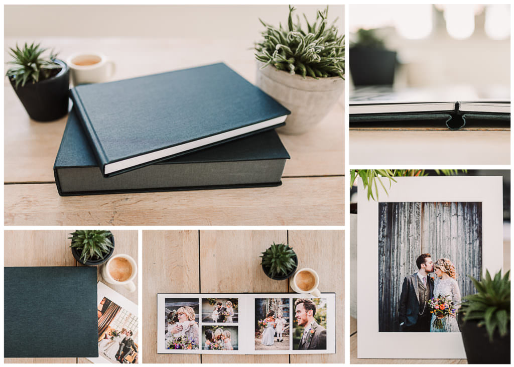 wedding albums and prints by hertfordshire wedding photographer