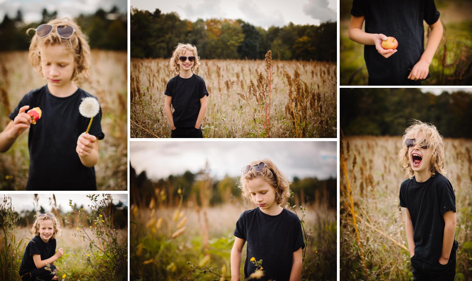 Autumn mini shoot Hertfordshire family photography