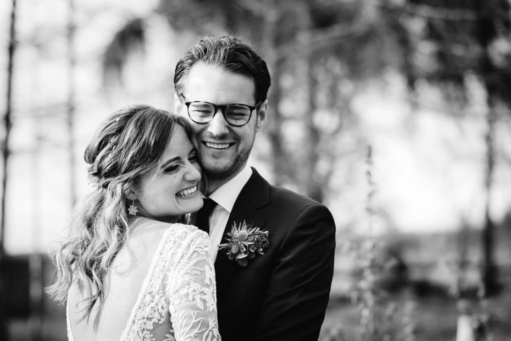 wedding photographer portrait of bride and groom