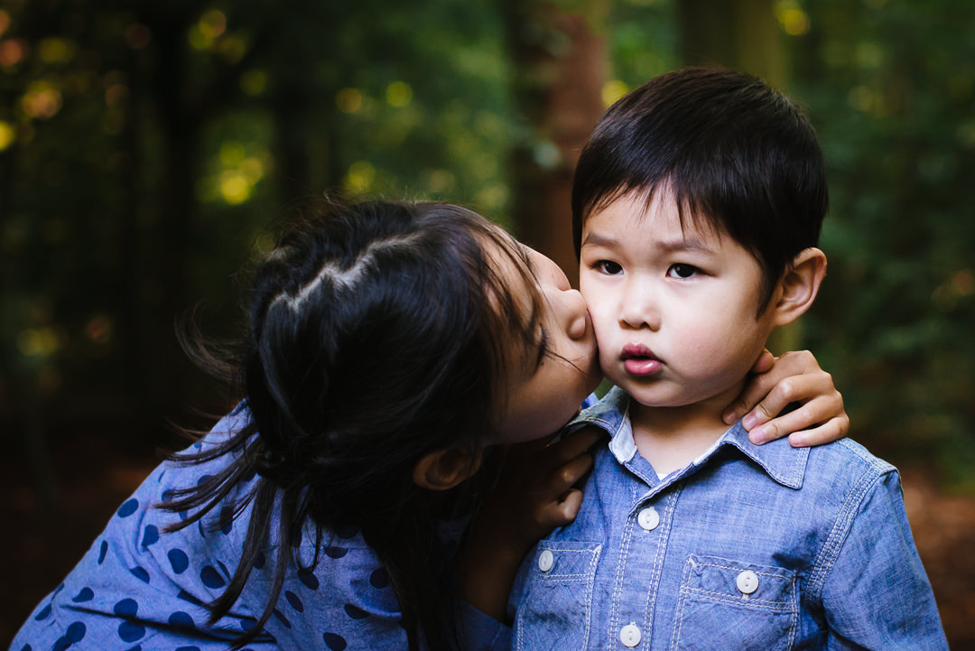 child photography of siblings in hertfordshire